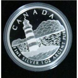 2004 Canada $20 Fine Silver Coin - Sambro Island Lighthouse