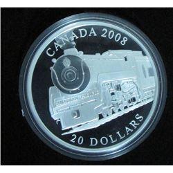 2008 Canada $20 Fine Silver Coin Royal Hudson
