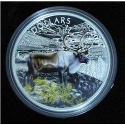 2015 Canada $20 Fine Silver Coin - Majestick Elk