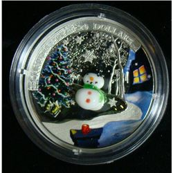 2014 Canada $20 Fine Silver Coin Snowman