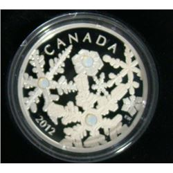 2012 Canada $20 Fine Silver Coin - Holiday Snowstorm