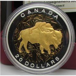 2014 Canada $20 Fine Silver - Seven Sacred Teachings : Respect