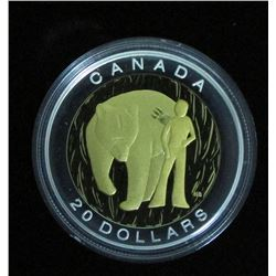 2014 Canada $20 Fine Silver Coin The Seven Sacred Teachings Courage