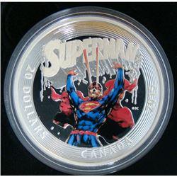 2015 Canada $20 Fine Silver Coin: Iconic Superman Comic Book Covers: Superman #28