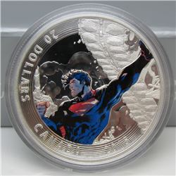 2015 Canada $20 Fine Silver Coin Iconic Superman Comic Book Covers: Superman Unchained #2 (2013)