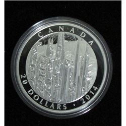 2014 Canada $20 Fine Silver Coin - Emily Carr