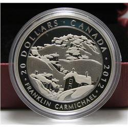2012 Canada $20 Fine Silver Coin - Franklin Carmichael