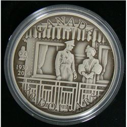 2014 Canada $20 Fine Silver Coin 75th Anniversary of the First Royal Visit