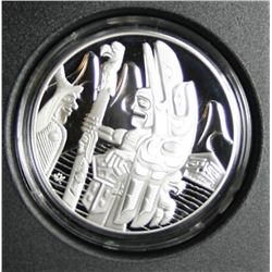 2005 Canada Sterling Silver $30 Coin - The Totem Pole