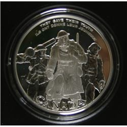 2006 Canada $30 Sterling Silver Coin - National War Memorial