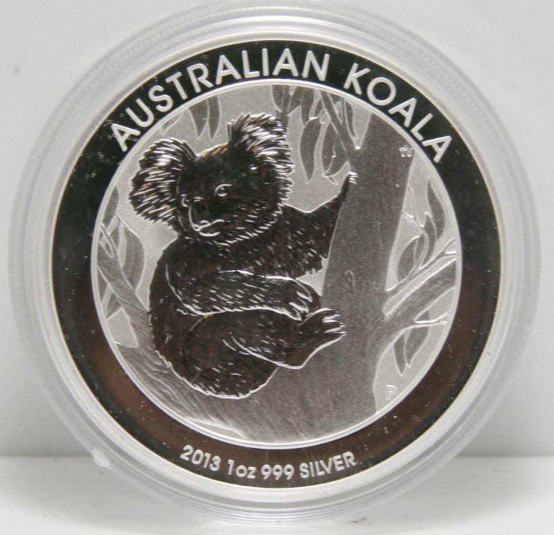 2 oz .999 Fine Silver Round - Koala - SC022
