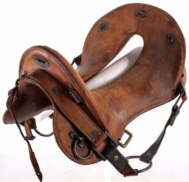 McClellan Calvary Saddle & Bit Fort Ellis Bozeman
