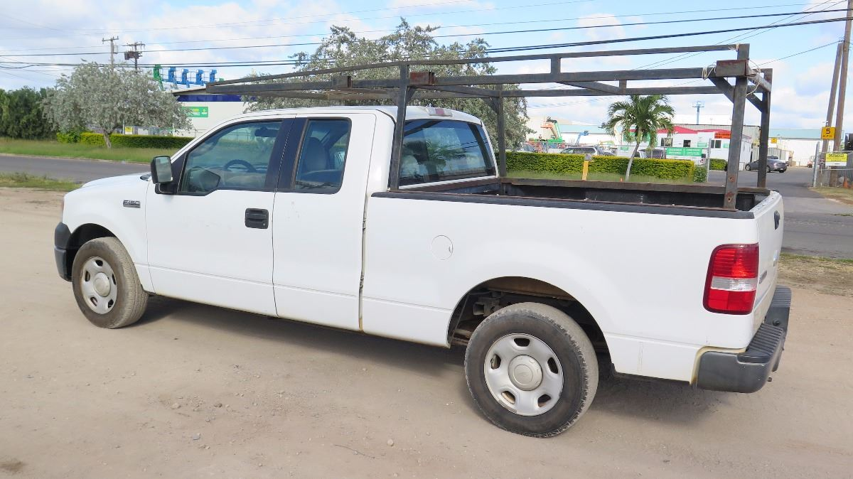 Truck Pipe Rack >> 2006 Ford F150 Pick Up Truck Extended Cab W Pipe Rack