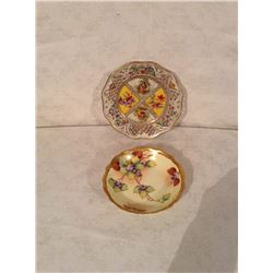 HAND DECORATED FRENCH BOWL AND SCHUMANN LOVE STORY HAND