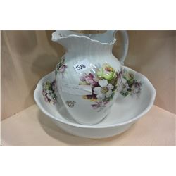 VICTORIAN JUG AND BOWL SET
