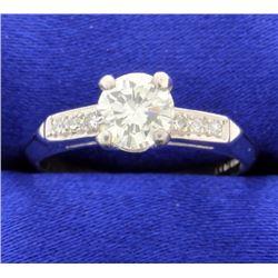 0.82 carat diamond ring