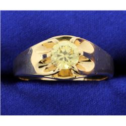 Vintage style claw ring