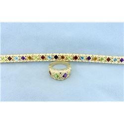 Ring and Bracelet matching set