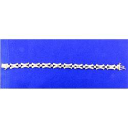 2 carat diamond bracelet