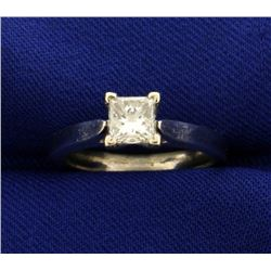 .8ct Princess Cut Solitaire Engagement Ring