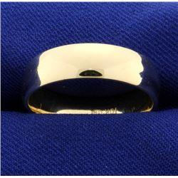 Gold Band Wedding Ring