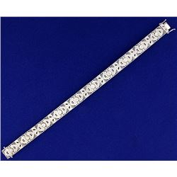 Custom Designed 2.3ct TW Diamond Bracelet