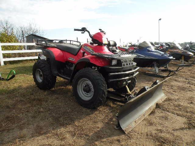2002 Polaris Sportsman 400 4x4 w/plow SN#-4XACH42A82B763739