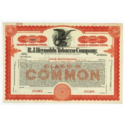 R.J. Reynolds Tobacco Co., ca.1910-1930 Specimen Stock
