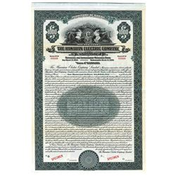 Hawaiian Electric Co. LTD., 1924 Specimen Bond