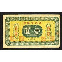 Szechuan Official Bank. ND Issue.