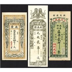 China Private Issue Banknote Group ca.1920-30's.
