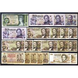 Oesterreichische Nationalbank. 1956-86 Issues.