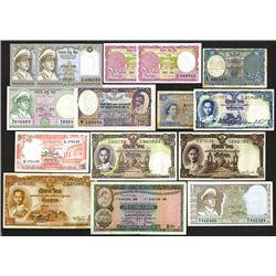 Ceylon, Thailand, Hong Kong and others.