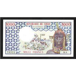 Banque des Etats de l'Afrique Centrale, 1974-78 Issue Banknote