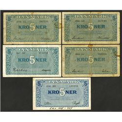 National Bank, 1944-50 issues.