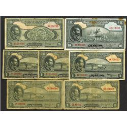 State Bank of Ethiopia. 1945 ND Issue.