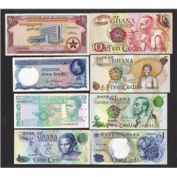 Bank of Ghana. 1959-79 Issues.