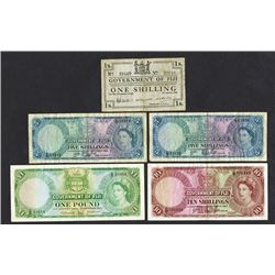 Government of Fiji. 1942-1964 Issues.