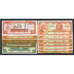 Banque de la Republique d'Haiti Banknote Assortment, ca.1960-80's