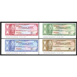 Rafidain Bank, ca.1960-80's Specimen Traveler's Check Assortment.