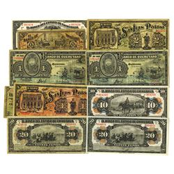 Mexico Banco Assortment, ca.1914 Issues.