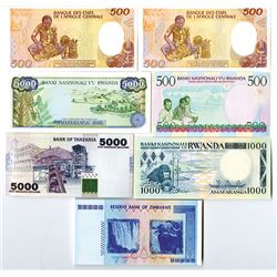 Worldwide Banknote Assortment #3 - Middle East & Africa Assortment.