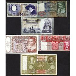 Nederlandsche Bank. 1930-43 Issues.