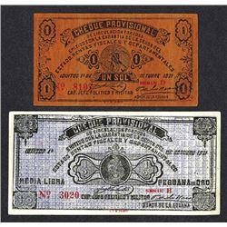 Guillermo Cervantes 1921 Cheque Provisional.