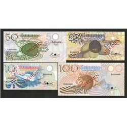 Seychelles Monetary Authority. 1979-80 ND Issue. Specimens.