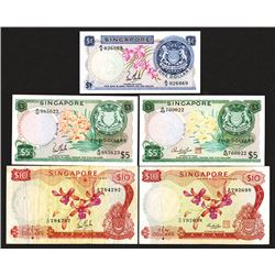 Board of Commissioners of Currency. Singapore. 1967 Orchard Issue.