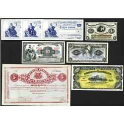South American Group Banknote Assortment.