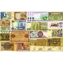 Worldwide Banknote Assortment #6