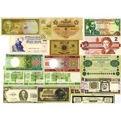 Worldwide Banknote Assortment #9