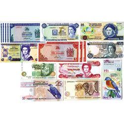 Worldwide Banknote Assortment #2 - British Colonies